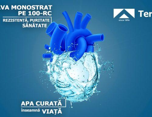 Brașovul a ales țeava albastră, monostrat, din PE-100RC
